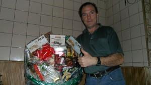 EA1CWB, Luis Miguel, de Valladolid, con su flamante cesta!